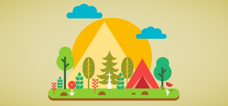 Cinco razones que avalan los campamentos en la naturaleza