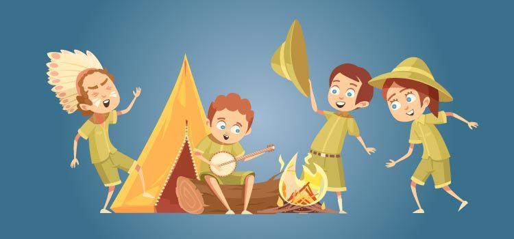 Letras de canciones de campmento